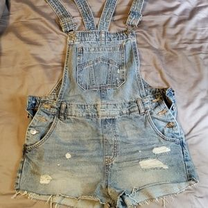 H&M overall shorts